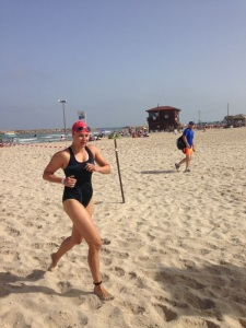 Super Sprint Triathlon in Israel - my first triathlon - 4th female in my age group